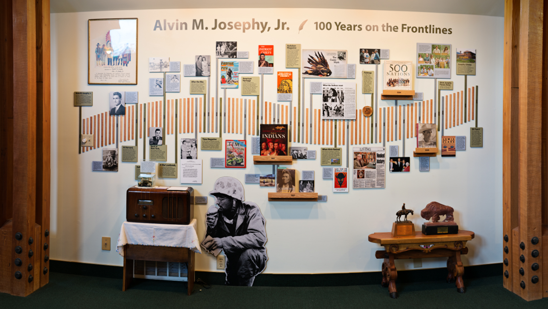 Alvin Josephy Interactive Exhibit