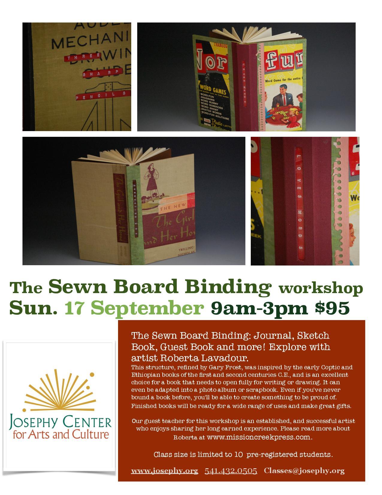 Sewn Board Workshop