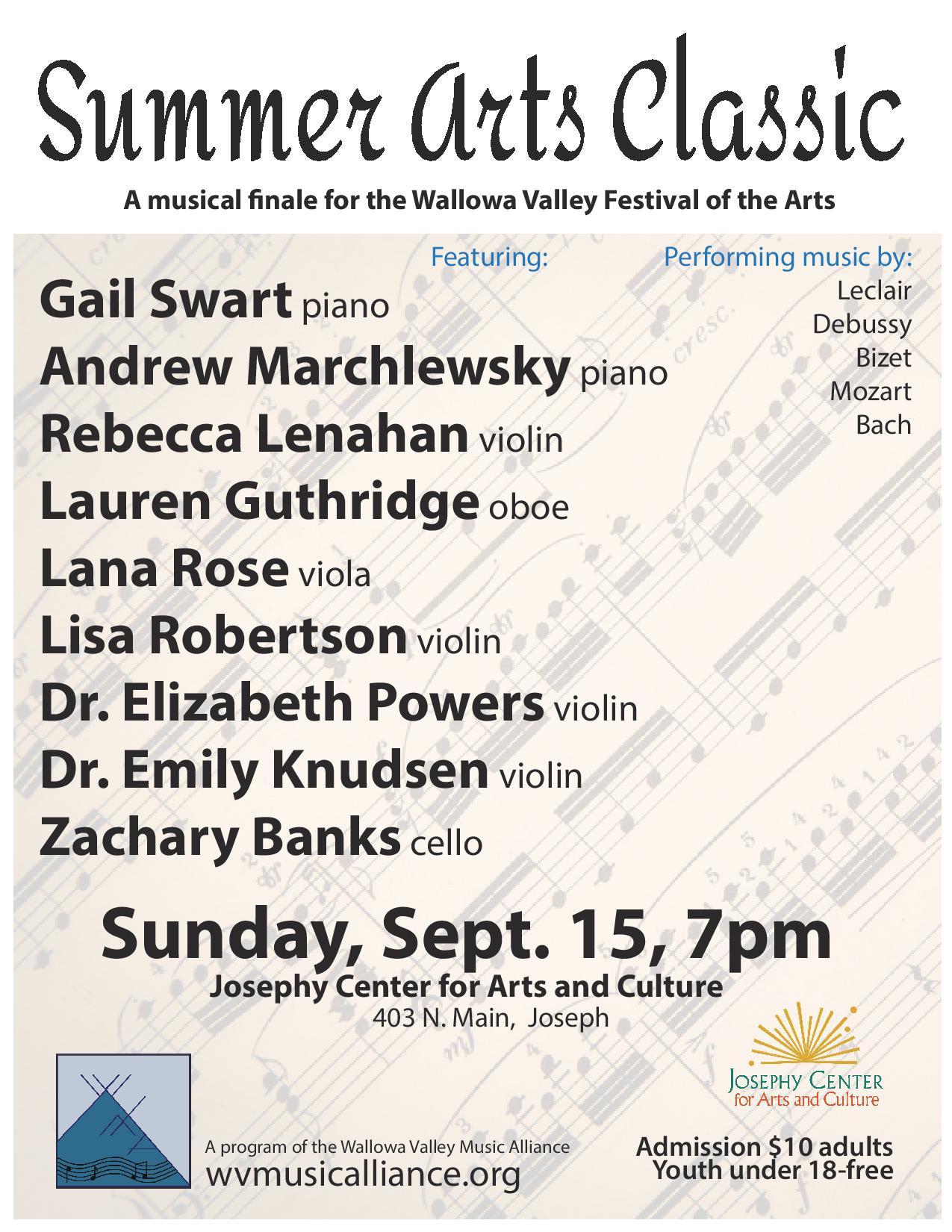 Festival of Arts Classical Concert